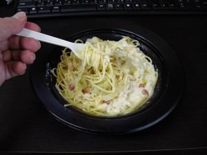 チーズ引き立つ シェフのまかないクリームパスタ(2)