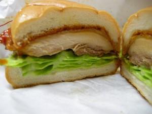 辛味噌チキンバーガー(5)