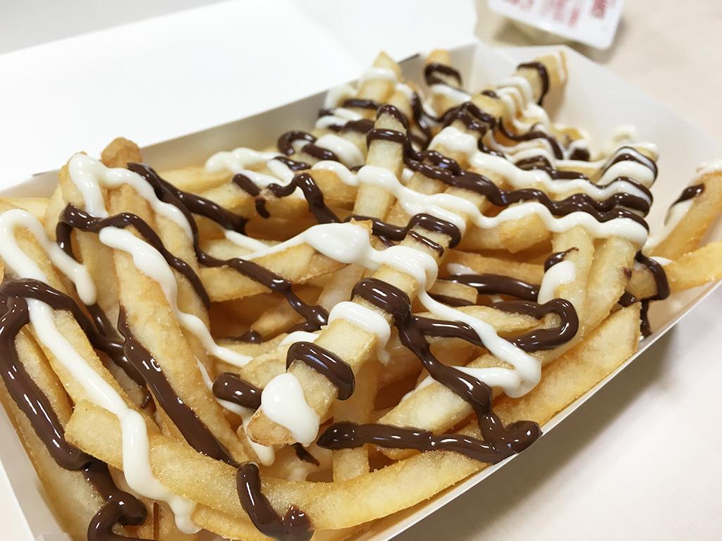 マック_チョコレートソース03